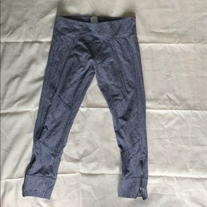calvin klein gray leggings
